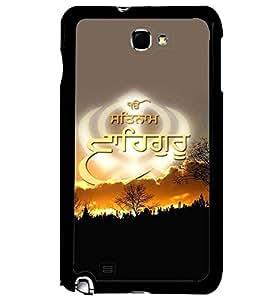 PRINTVISA Religious WaheGuru Case Cover for Samsung Galaxy Note N7000