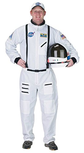 Aeromax Costumes Mens Nasa Astronaut High Quality Official Fancy Party Dress