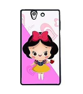 Printvisa 2D Printed Girly Designer back case cover for Sony Xperia Z - D4577