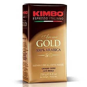 Caffe Kimbo Gold Medal (Ground) - 8.8 oz vacuum pack