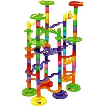 xstunt-super-deluxe-marble-race-105pcs-large-construction-edition-includes-75-building-blocks-30-cus