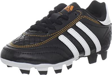 adidas Goletto III TRX FG Soccer Cleat (Toddler/Little Kid/Big Kid),Black/Running White/Bright Gold,8.5 M US Toddler