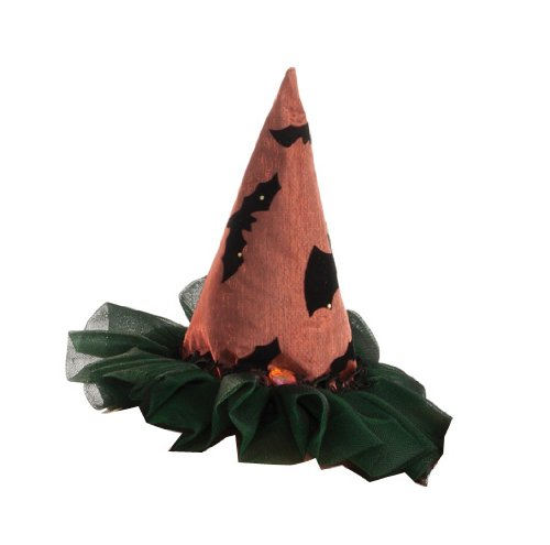 Rubie's Costume Womens Mini Two Tone Witch Hat