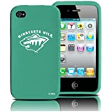Minnesota Wild iPhone 4 and 4S Case: Silicone Cover