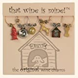 That wine is mine! Wine Glass Charms - Dogsby That Wine Is Mine