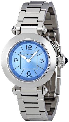 Cartier Women's W3140024 Miss Pasha Blue Dial Watch
