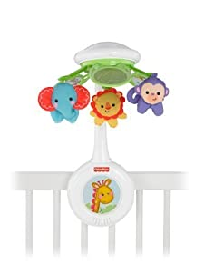 Fisher-Price Rainforest Friends Musical Mobile, Signature Style