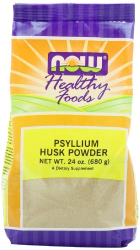 Now Foods Psyllium Husk Powder, 24-Ounce
