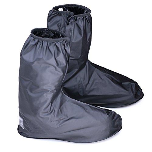 Hilitchi Men Black Waterproof Rainstorm Rainy Day …