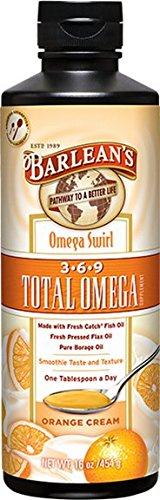 Barlean's Orange Cream Total Omega Swirl, 16-Ounce (Fresh Omega compare prices)