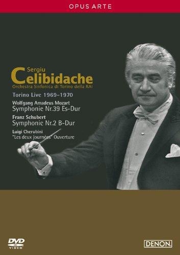 モーツァルト:交響曲第39番/シューベルト:交響曲第2番/ケルビーニ:歌劇《二日間》序曲 [DVD]