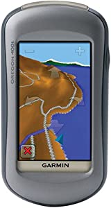 Garmin Oregon 400T 3-Inch Touchscreen Handheld GPS Unit with Preloaded Topographic Maps