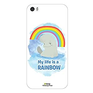 Hamee Finding Dory Official Licensed Designer Cover Hard Back Case for Xiaomi Mi5 ( Bailey Rainbow/White )