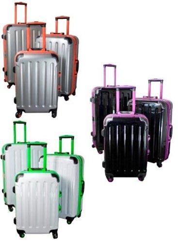 Kofferset 3 tlg. Trolleyset ABS Hartschale ODESSA