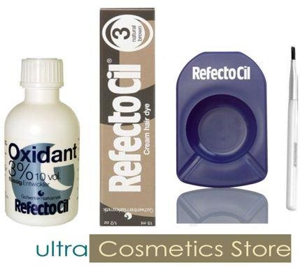 REFECTOCIL COLOR KIT - Natural Brown Cream Hair