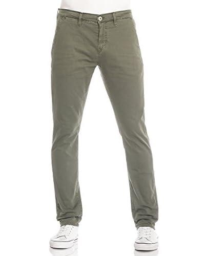 Meltin'Pot Pantalone Simon-Mp020 [Verde Scuro]