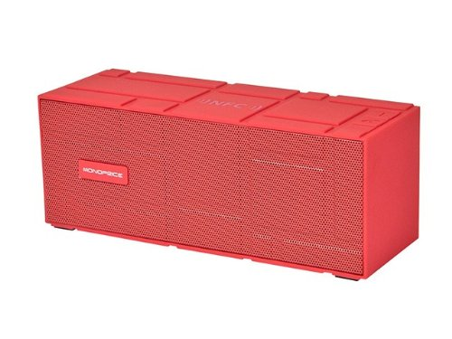Portable Bluetooth® Nfc Brick Speaker- Red Product No: 10950