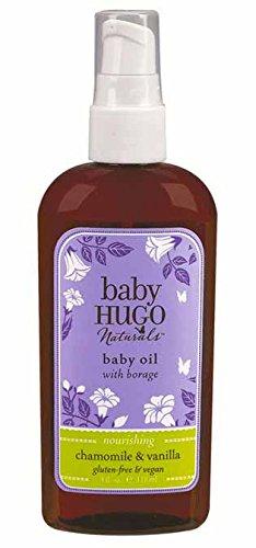 BabyHugo Baby Oil - Vanilla & Chamomile Hugo Naturals 4 oz Oil - 1