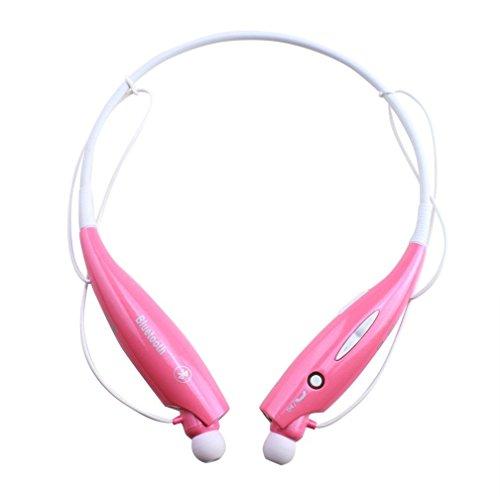 Diwali Offer-Hangout Latest HEK-810 Bluetooth Ear Kennel (Pink)