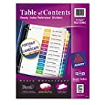 Avery Ready Index Table of Contents D...