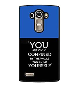 printtech Cool Quotes Success Back Case Cover for LG G4 ,LG G4 H815