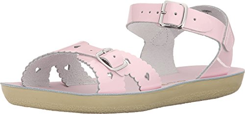 Saltwater by Hoy Sweetheart Sandal (Toddler/Little Kid), Shiny Pink, 9 M US Toddler