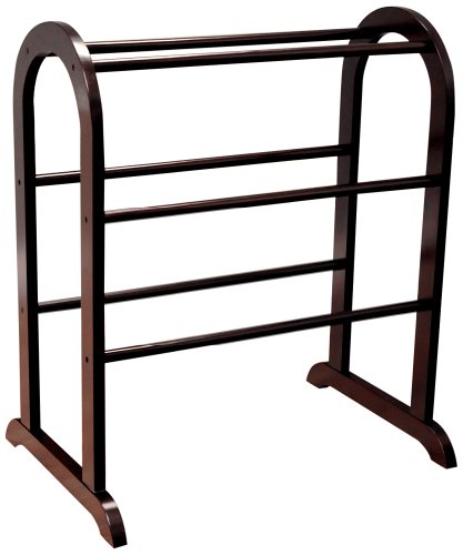 Frenchi Home Furnishing Metal Scroll Blanket Rack