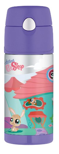 Thermos Funtainer Bottle - Littlest Pet Shop - 12 Ounce