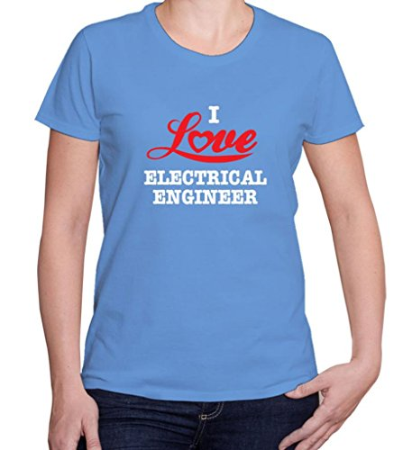 I Love Electrical Engineer Women'S Short Sleeve Tshirt Shirt For Favorite Careers