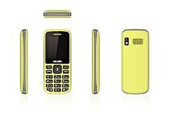Melbon Dude 02-Yellow Dual Sim GSM with Multimedia Camera Mobile Phone