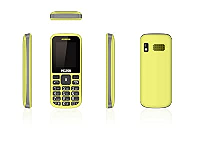 Melbon Dude 02-Yellow Dual Sim GSM with Multimedia Camera Mobile Phone