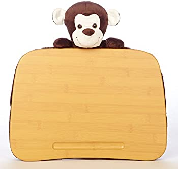 Deskeez Lapdesk with Plush Animal Attached