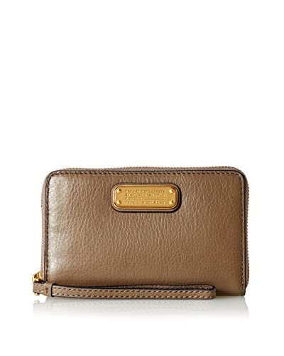 Marc by Marc Jacobs Women's New Q Wingman Wristlet, Taupe