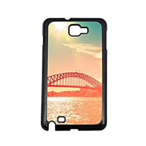 Vibhar printed case back cover for Samsung Galaxy Note 2 Bridge