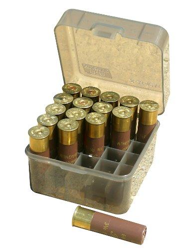 MTM 25 Round Shotshell Box (Clear Smoke) (Shotshell Box compare prices)