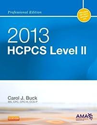 HCPCS 2013 Level II Professional Edition (Hcpcs (American Medical Assn))