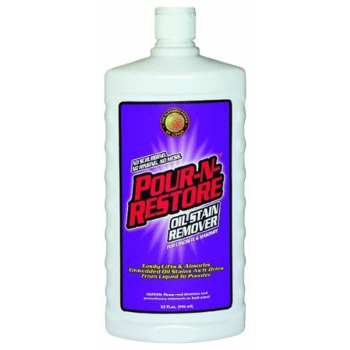 Edgewater Ind. PNR32OZ-06 Concrete And Masonry Stain Remover, 32oz