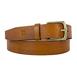 Leder Concept's Coniac Women's Genuine Leather Belt (BW008_32, Brown, 32)