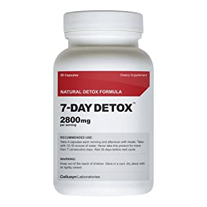 7 Day Detox - Best Supplement For Quick Weight Loss - All Natural Diet Pill - Top Fat Burner For Fast Results by 7 Day Detox