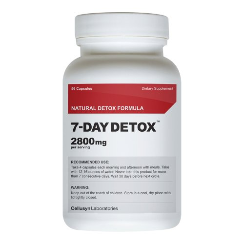 7 DAY Detox - Colon Cleanse - Diet Pill - Weight Loss - Fat Burner colon body cleansing