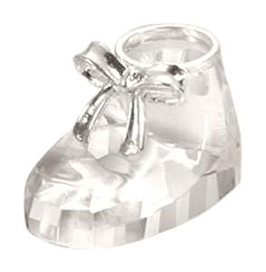 Fashioncraft Choice Crystal Baby Shoe,