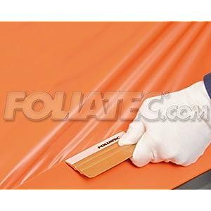 Foliatec - 32117-CARWRAPPING Matte orange-Line matt Film 1,52 x 1,00 m Serial Metres