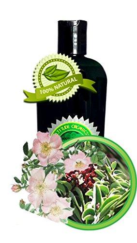 Rose-Sandalwood Massage Oil 100% All-Natural And Organic - 8Oz