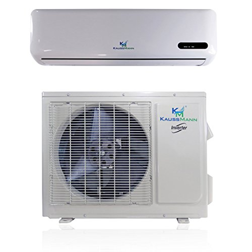18000 Btu (1.5 Ton) Inverter Ductless Mini Split, Air Conditioner, Heat Pump, Heating, Cooling, Dehumidification, Ventilation. Comes with 15 Feet Installation Kit. 208~230 Vac (Quiet Ac Unit compare prices)