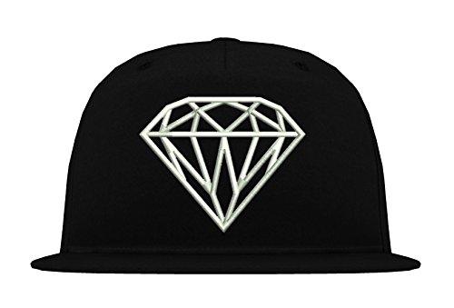 TRVPPY-5-Panel-Snapback-Cap-Modell-Diamant-Diamond-in-vielen-verschiedenen-Farben-B610