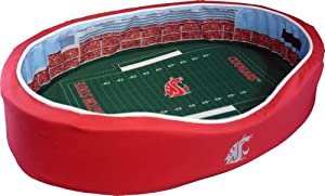 Amazon.com : NCAA Football Stadium Pet Bed : Pet Supplies