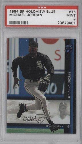 Michael Jordan Psa Graded 9 Chicago White Sox Baseball Card 1994 Sp