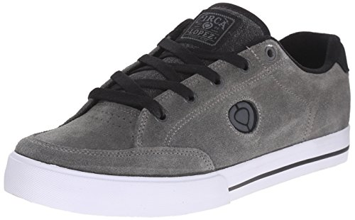 C1RCA Men's AL50 Slim Skate Shoe, Frost Gray/Black, 9 M US
