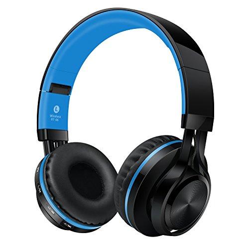 alihen bt 06 swift bluetooth 4 0 casque d 39 coute st r o et sans fil sur les oreilles pas de. Black Bedroom Furniture Sets. Home Design Ideas