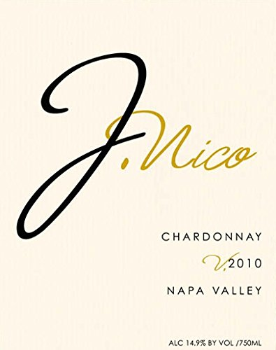 2012 J Nico Wines Napa Valley Chardonnay 750 Ml